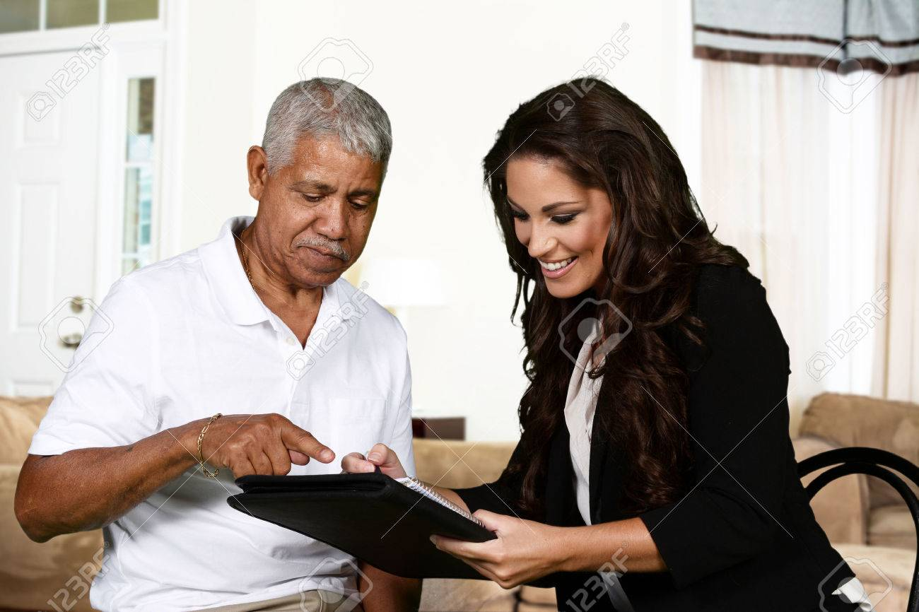 Person in need having a counseling session Stock Photo - 42029874