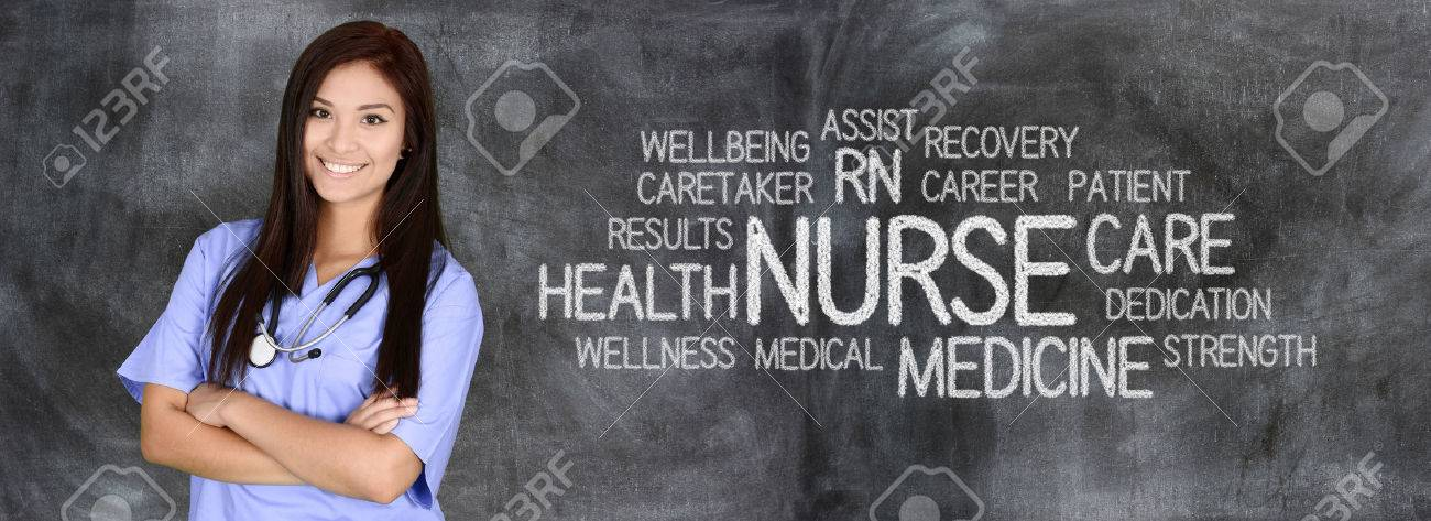Female nurse ready to give medical attention Stock Photo - 46959123
