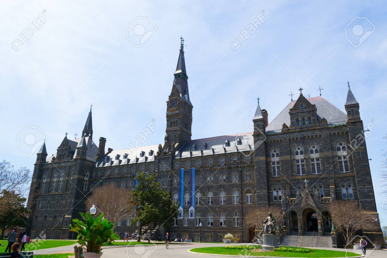 Georgetown University was founded by John Carrol in 1789 - 39273162