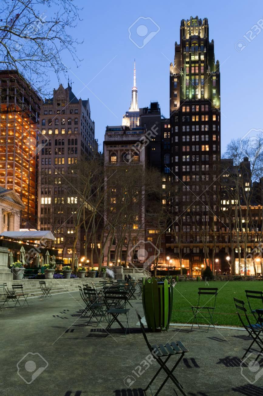 5 と 6 番街と 42 番街の間に位置するマンハッタン (ニューヨーク) に ...