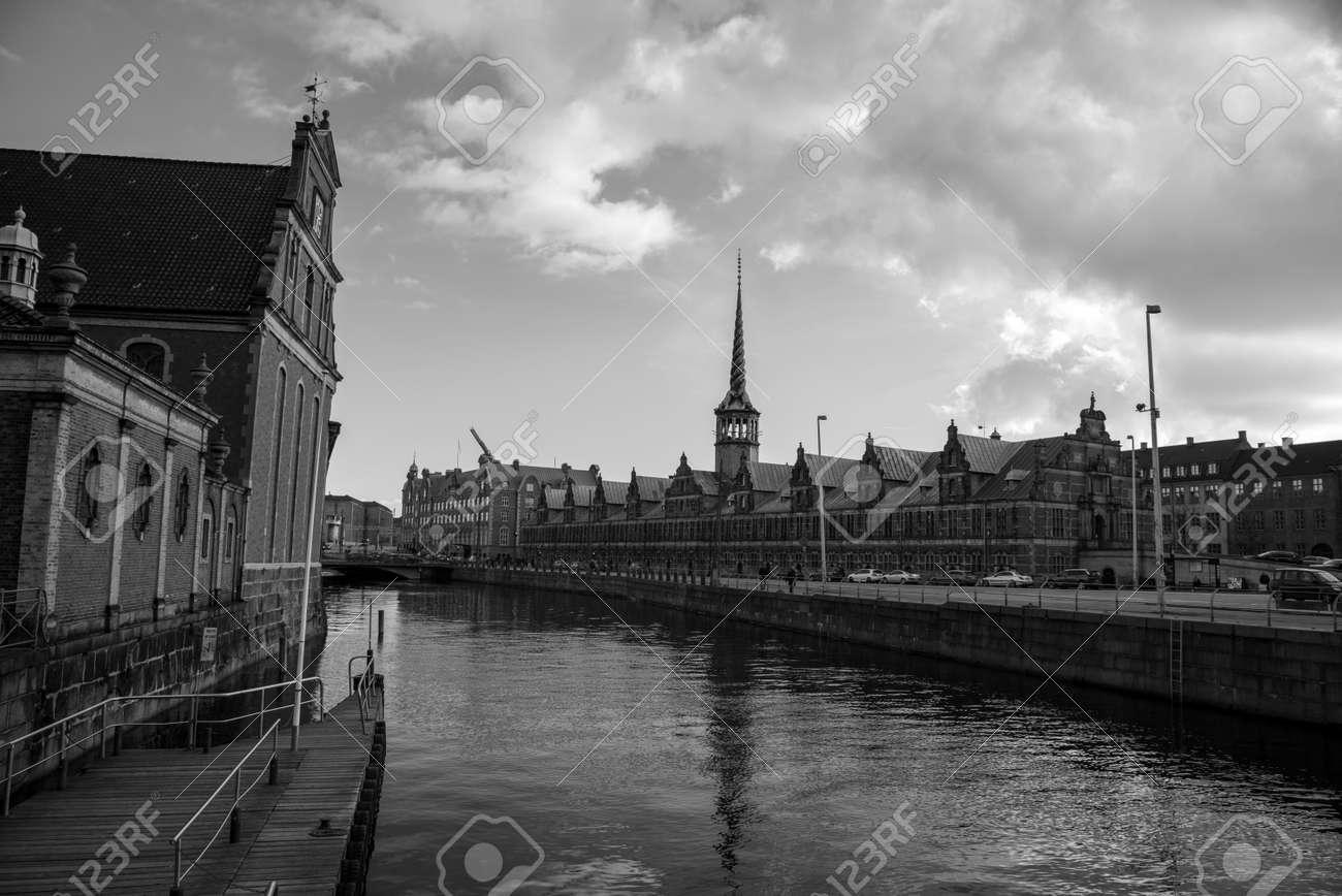 Former stock exchange building of Copenhagen (DK) - 154537670