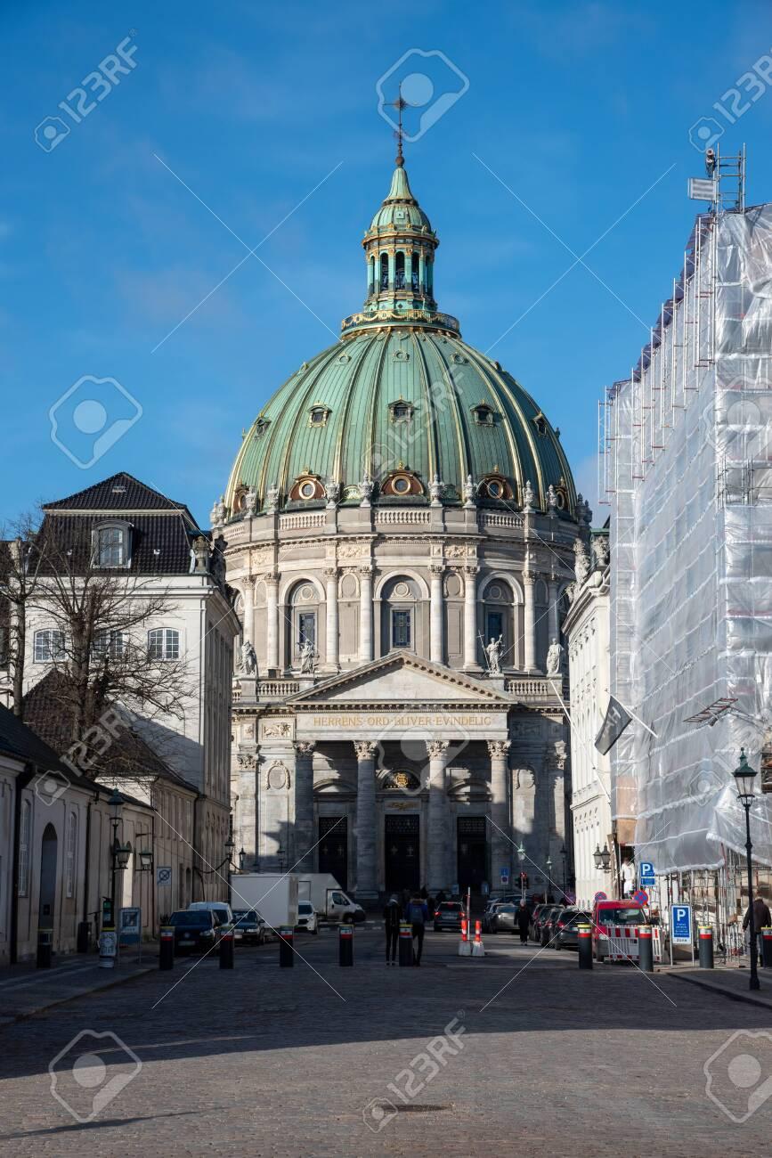 Fredrik Church in Copenhagen also known as Marble Church - 154539176