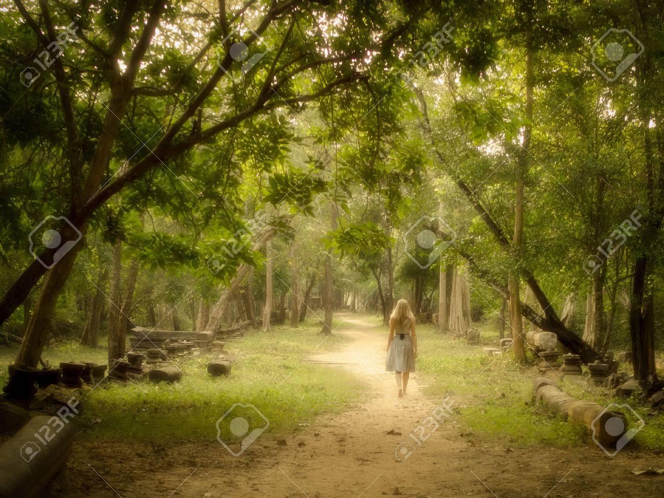comment etre mysterieux avec les filles forest