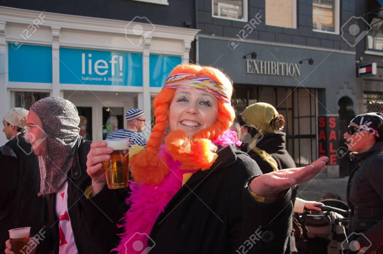 Halloween Party Breda.Breda North Brabant Netherlands March 7 2011 Carnival