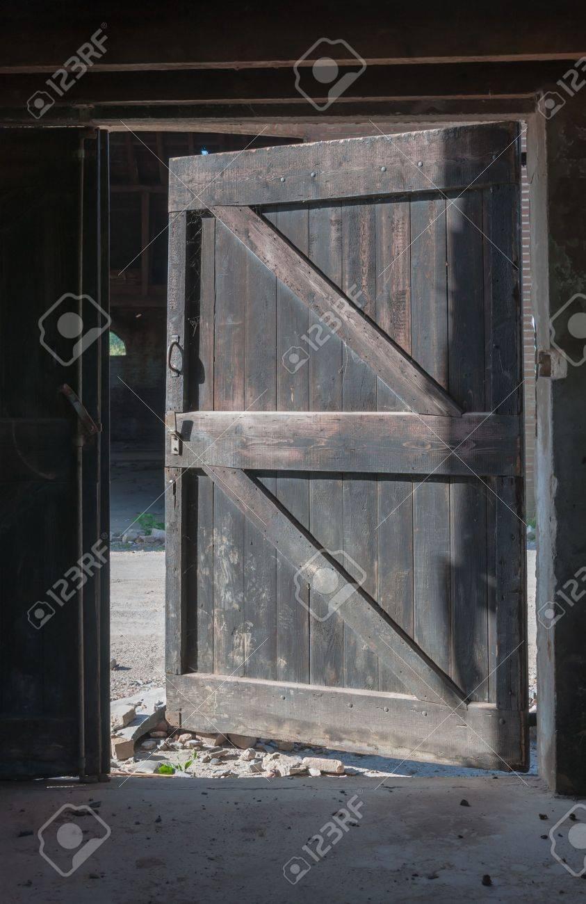 Open Barn Door barn door stock photos. royalty free barn door images and pictures