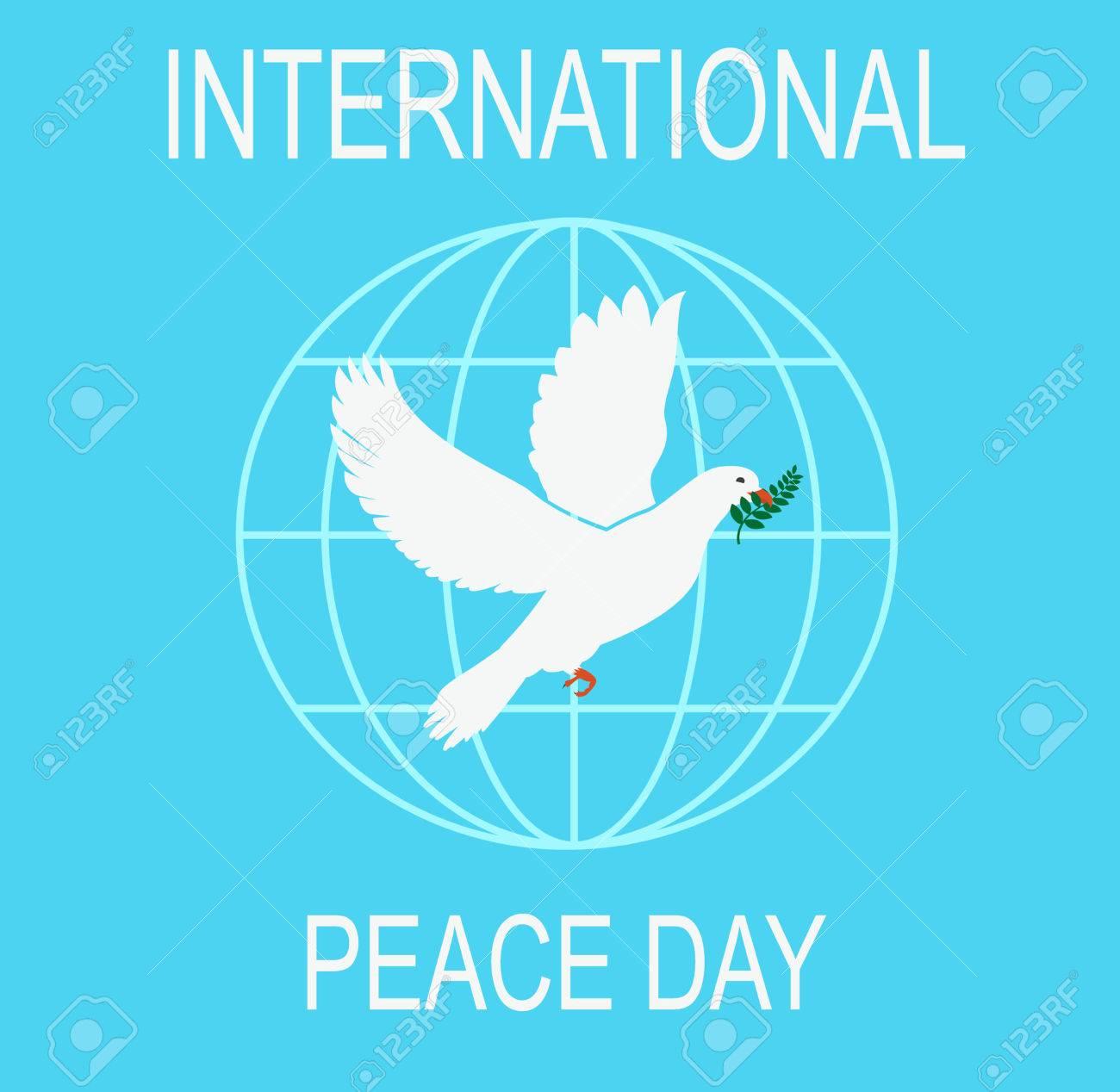 鳩と国際平和デー ロイヤリティ...