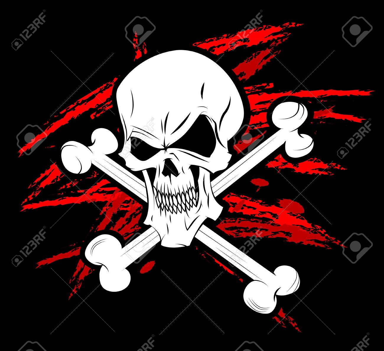 pirate symbol jolly roger stock photo picture and royalty free rh 123rf com jolly roger flag clipart Jolly Roger Logo