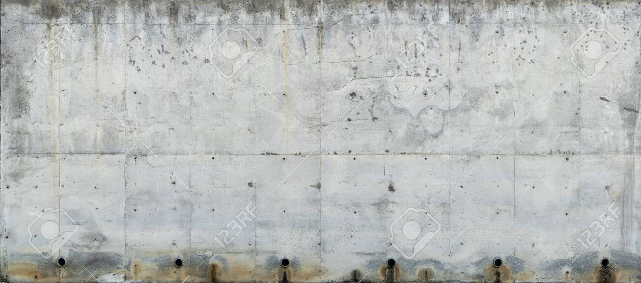 Concrete old wall high-resolution texture - 128011730