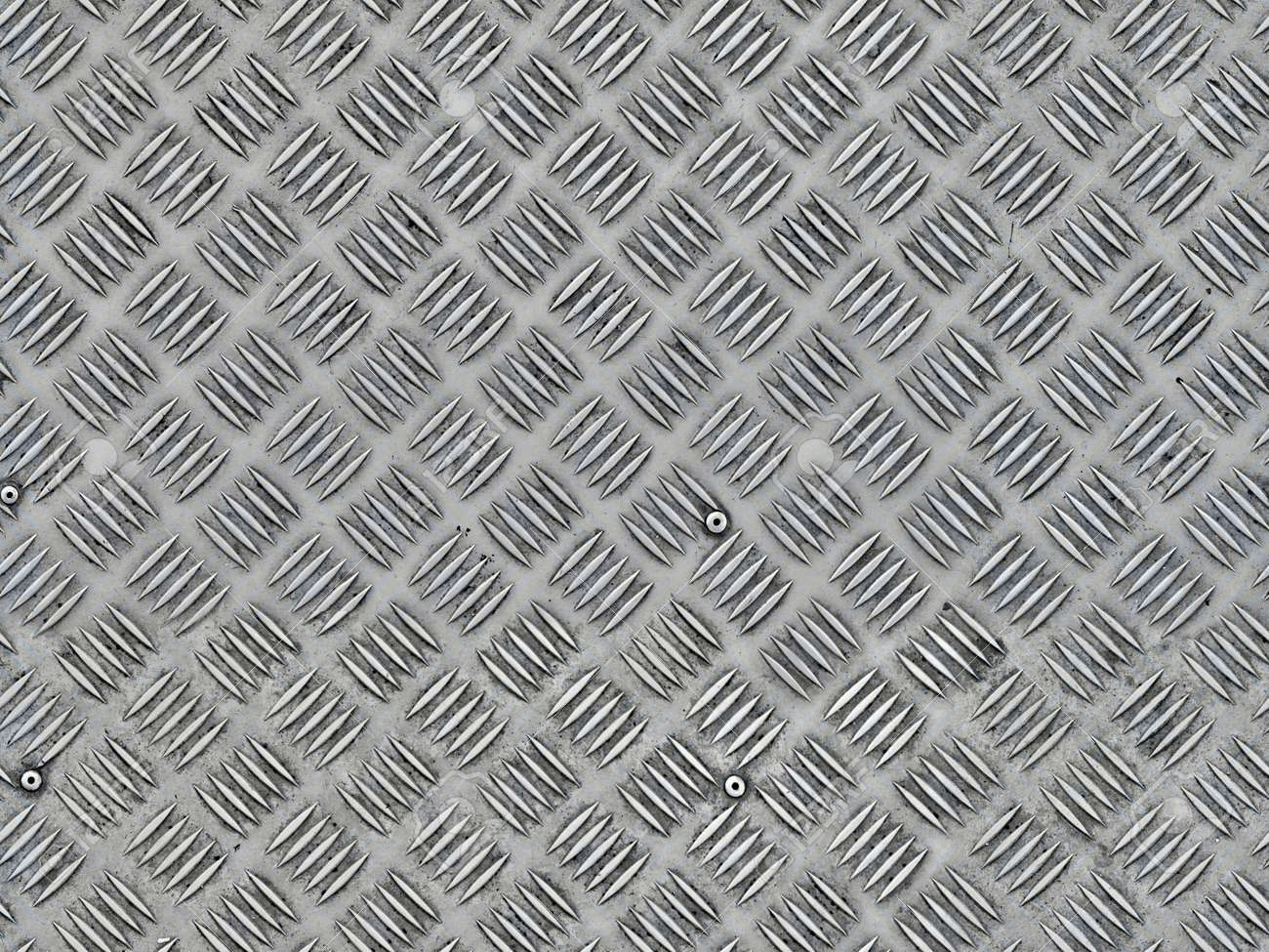 metal plate with press out pattern seamless texture - 157842331