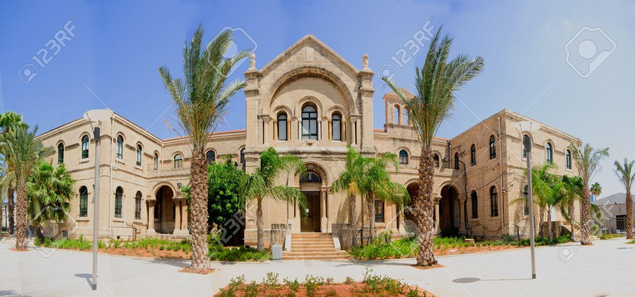 A 19th century Carmelite monastery building in Haifa, Israel