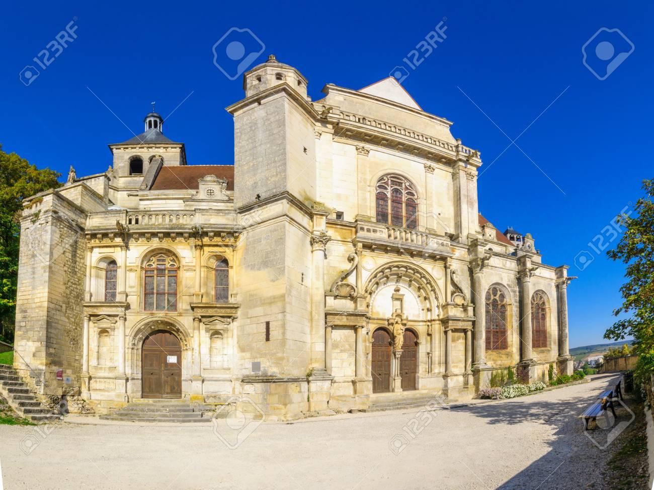 The Saint Peter church, in Tonnerre, Burgundy, France - 67235677