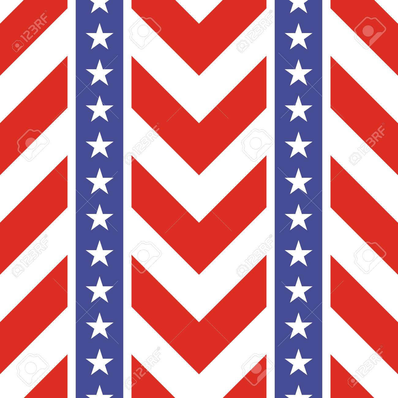 Patriotic usa seamless pattern american flag symbols and colors american flag symbols and colors background for 4th july usa biocorpaavc
