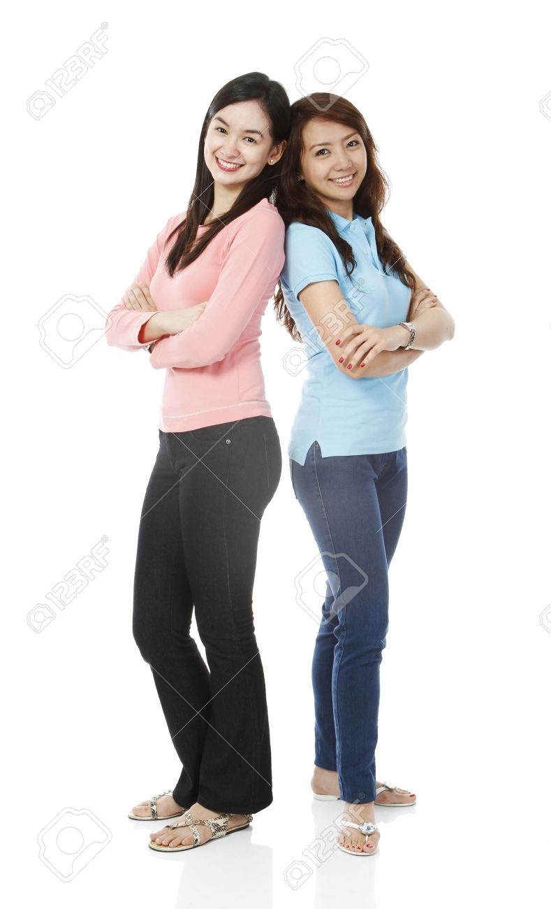 Clothes casual for young women photo