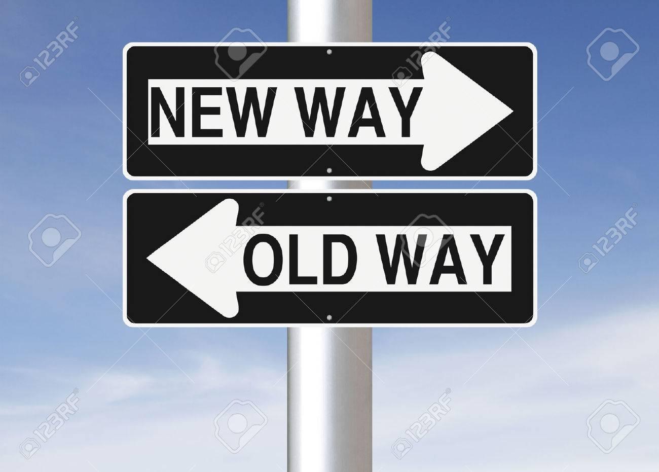 Conceptual One Way Road Signs ...