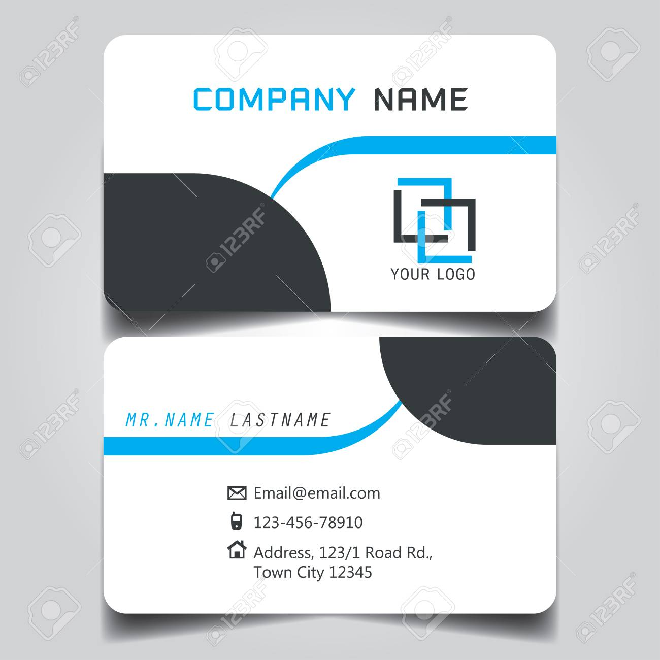 standard size of business card