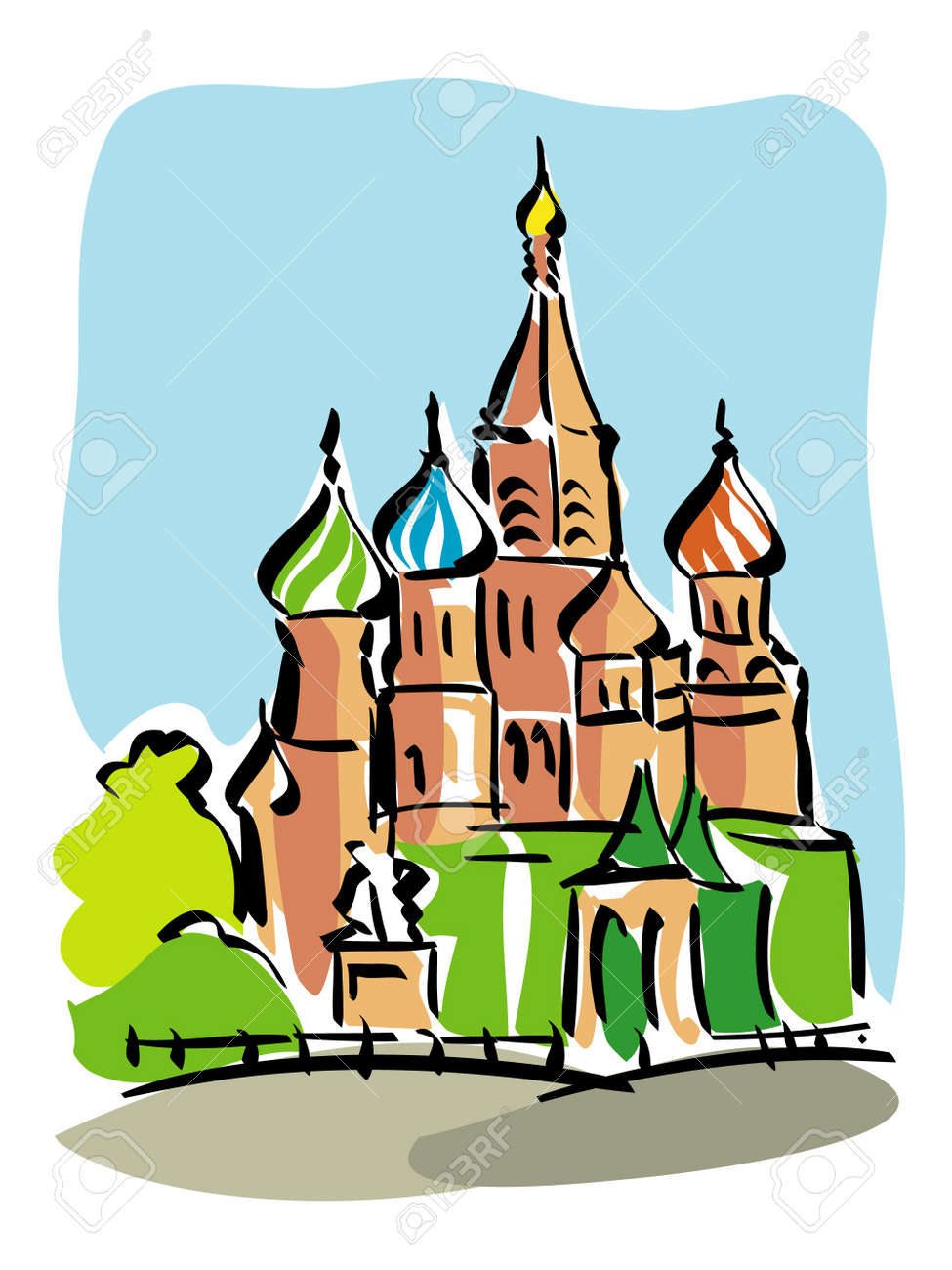 Moscow Stock Vector - 17438431
