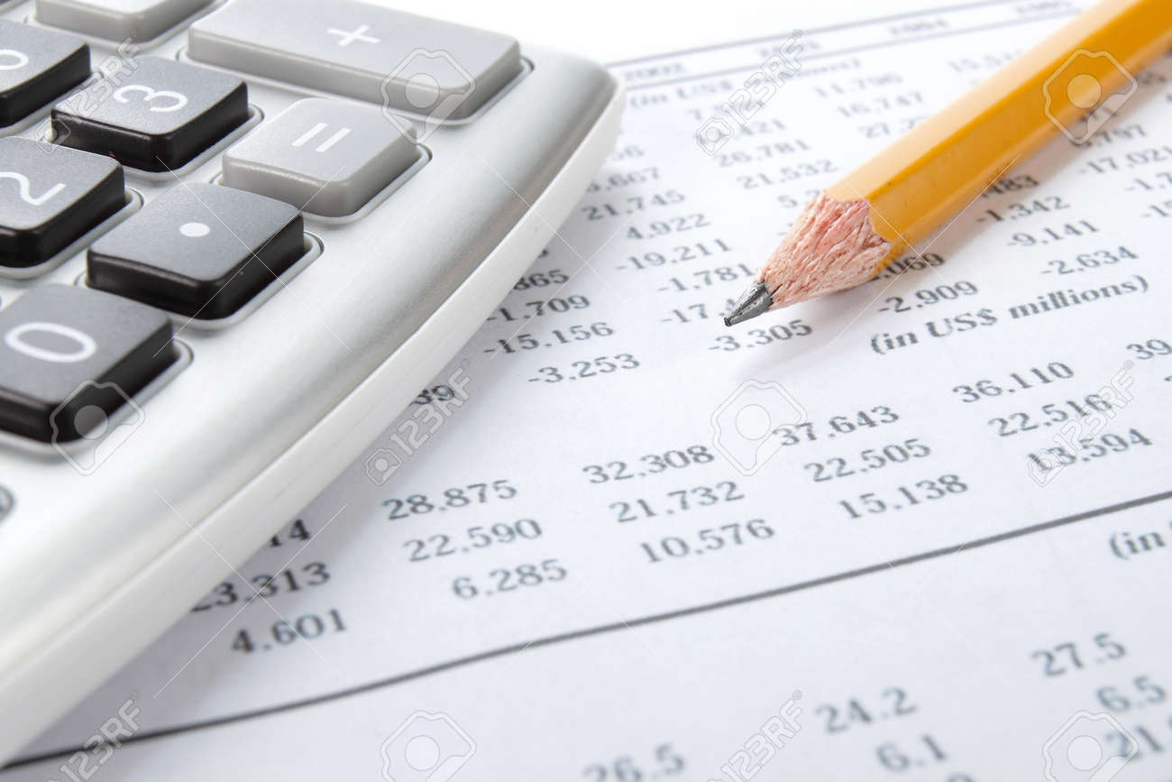Business Background Market Analysis Concept With Financial Data – Financial Data Analysis