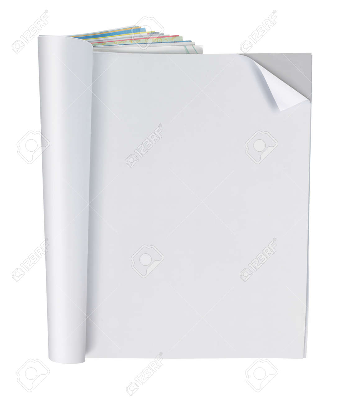 blank magazine page, ready for your design Stock Photo - 9204080