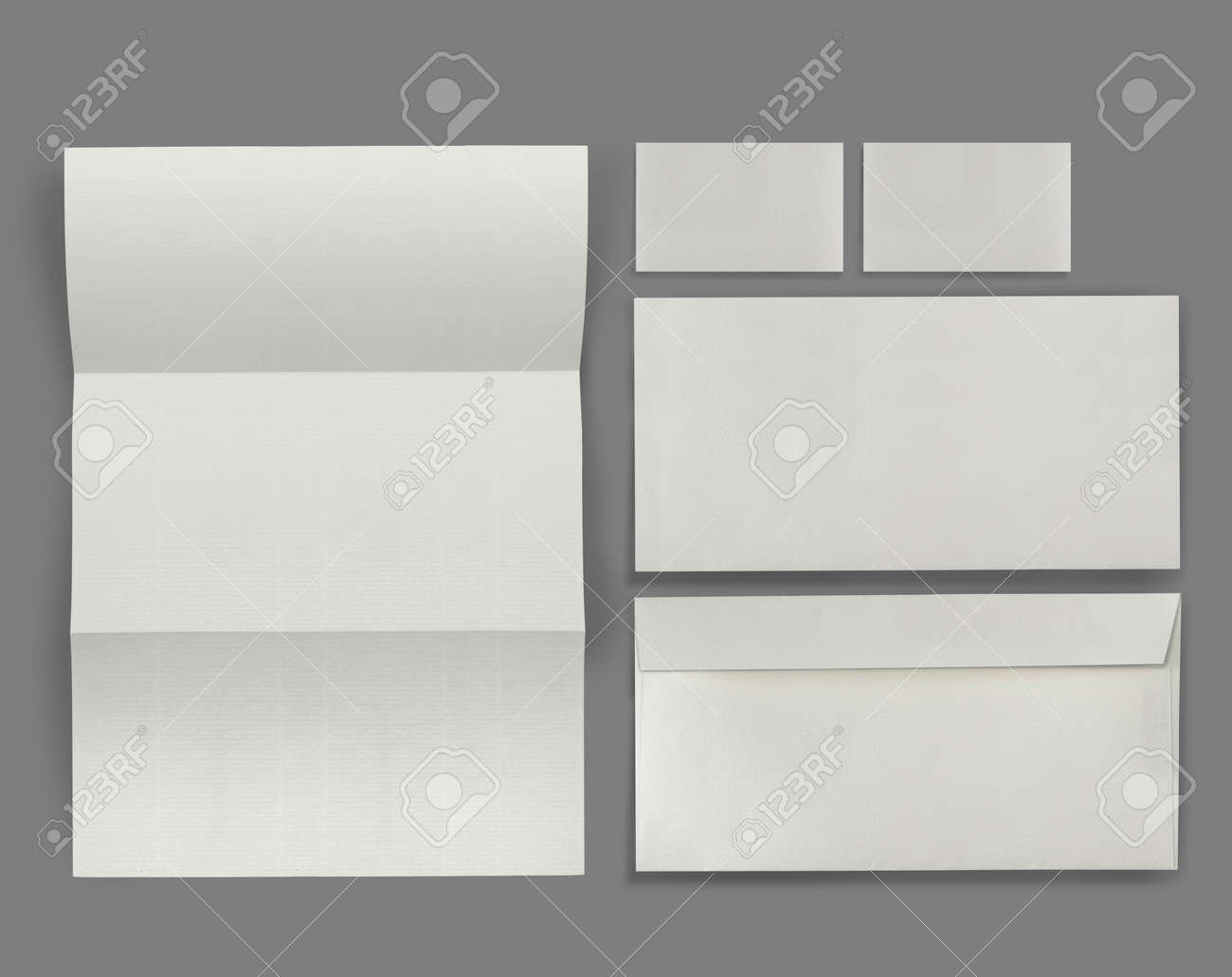 set of corporate identity templates. each one shot separately, for another blank templates visit my gallery Standard-Bild - 11154464