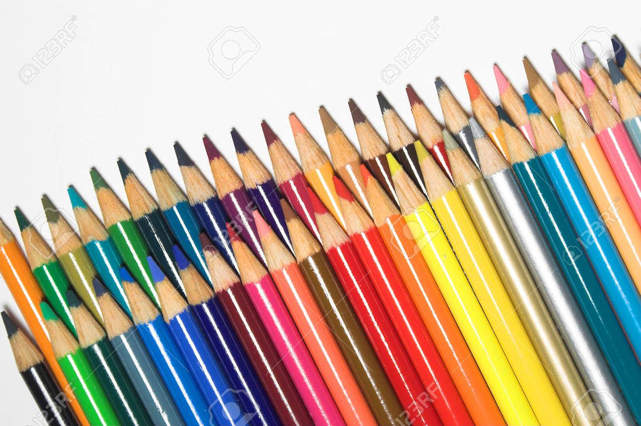Colored Pencils Stock Photo - 760384