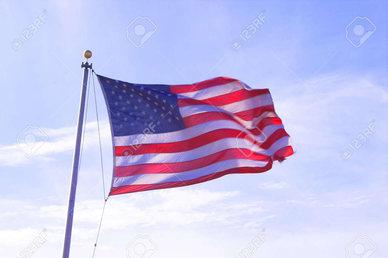 American Flag Stock Photo - 797982