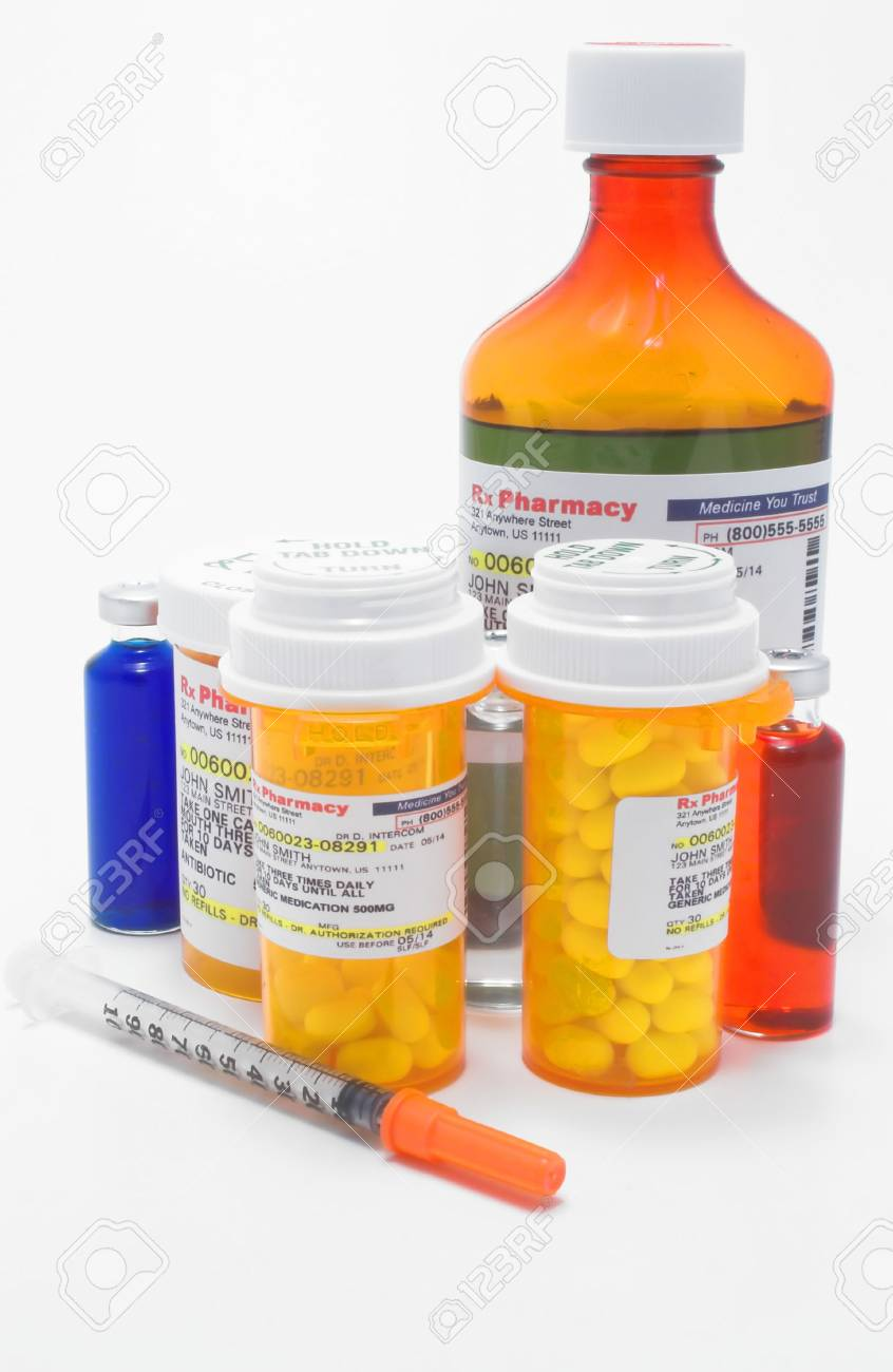 Prescription Medication Stock Photo - 922979