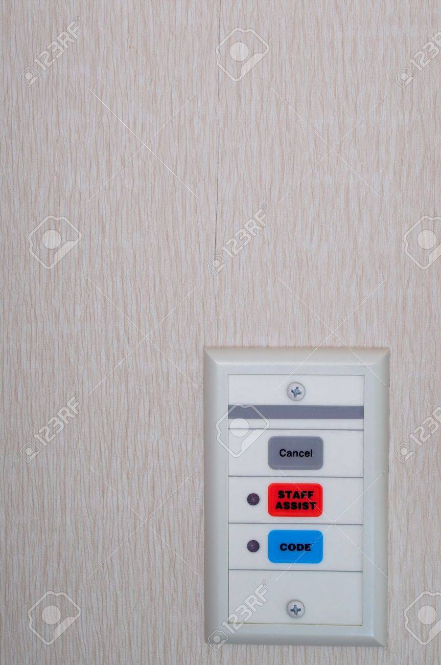 A set of hospital emergency code call buttons. Stock Photo - 2052486