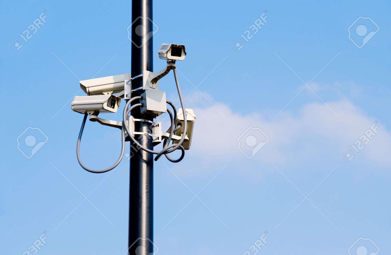Security Cameras Stock Photo - 3351683