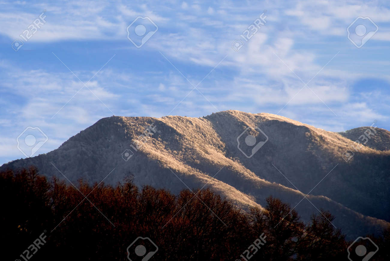 The Appalachian Mountains of the Eastern United States. Stock Photo - 4135226