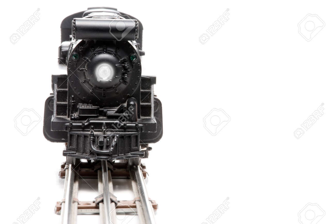 A miniature replica of a steam powered train. Stock Photo - 4289466