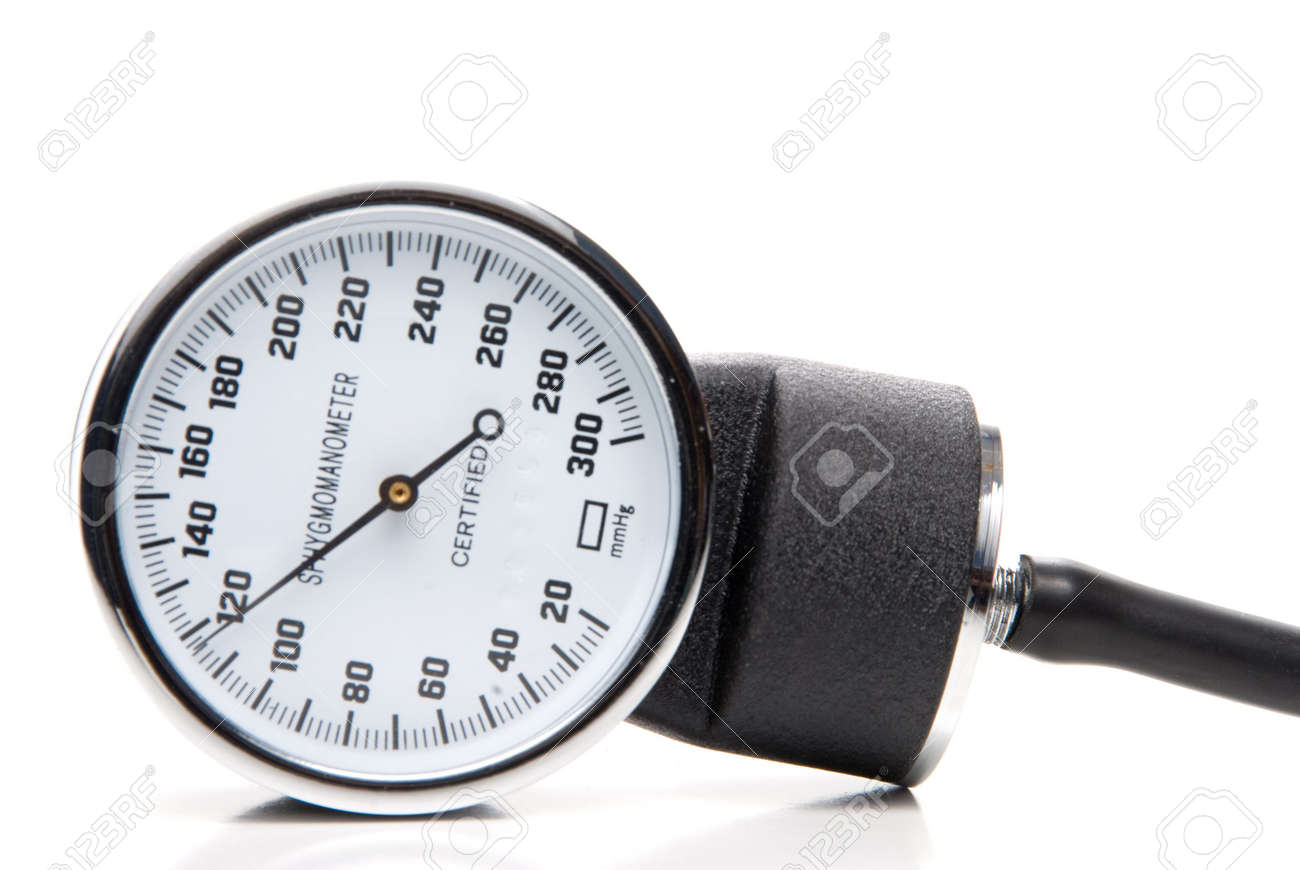 A professional blood pressure tool known as a Sphygmomanometer. Stock Photo - 4367320