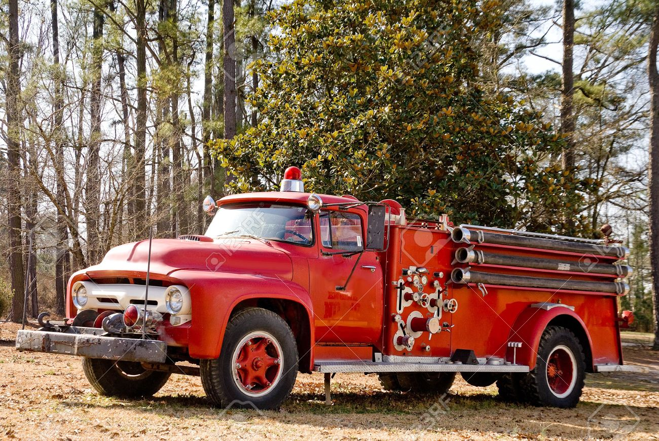 antique fire truck stock photos royalty free antique fire truck