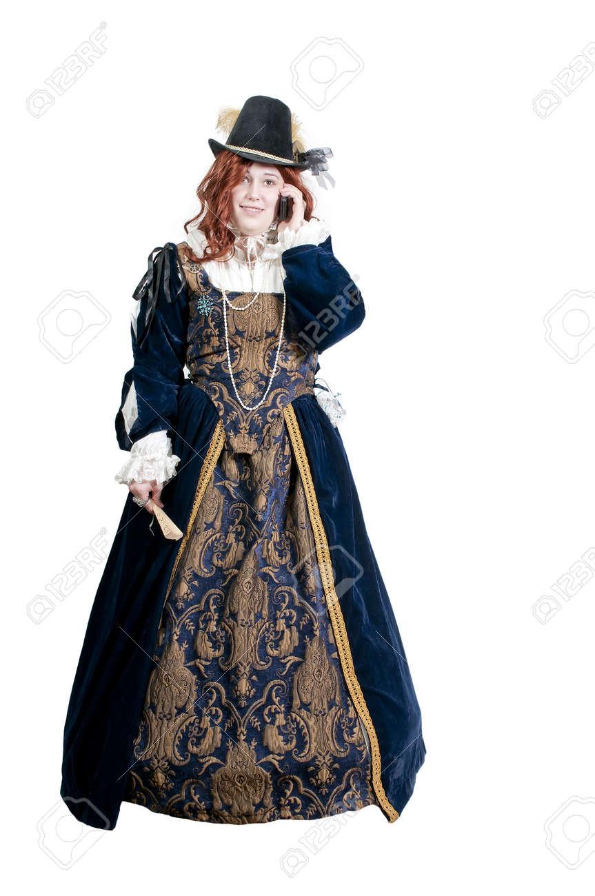 本格的なドレスでルネサンス、貴...