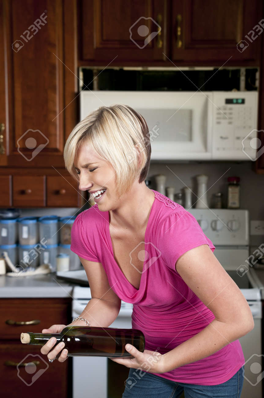 A young Beautiful Woman with a lovely smile laughing Stock Photo - 10857710
