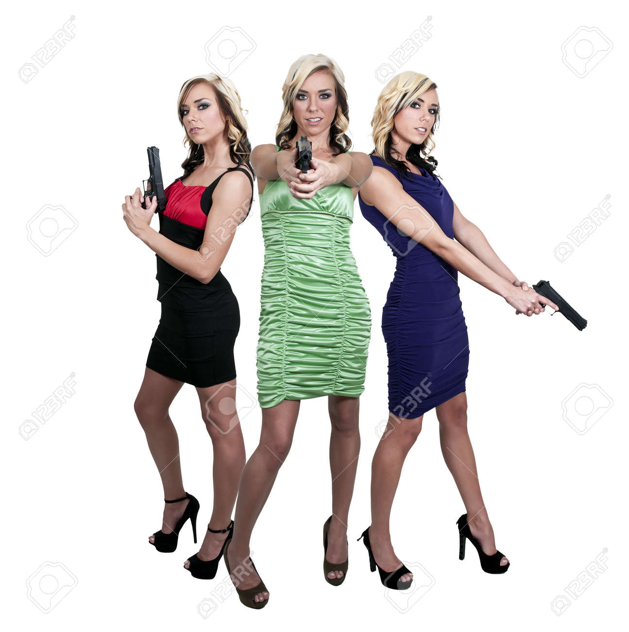 beautiful police detective women on the job guns stock photo beautiful police detective women on the job guns stock photo 14880502