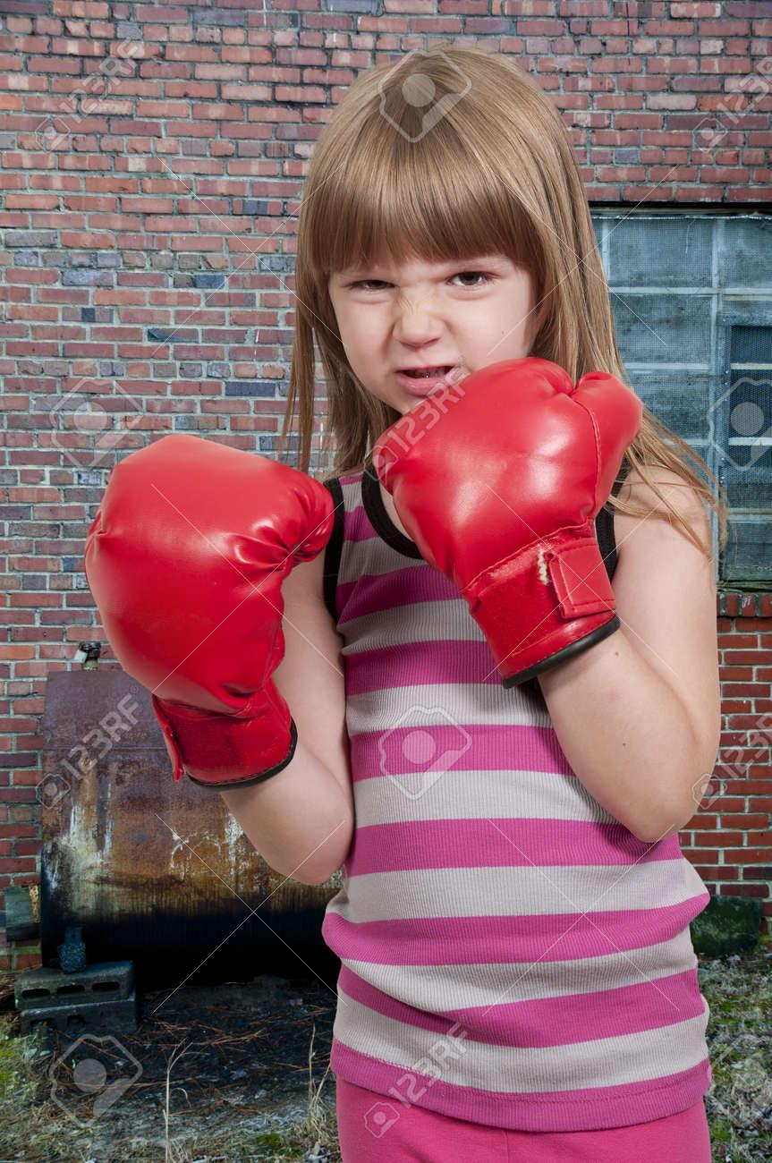Фотографии девочек боксерка 5 фотография
