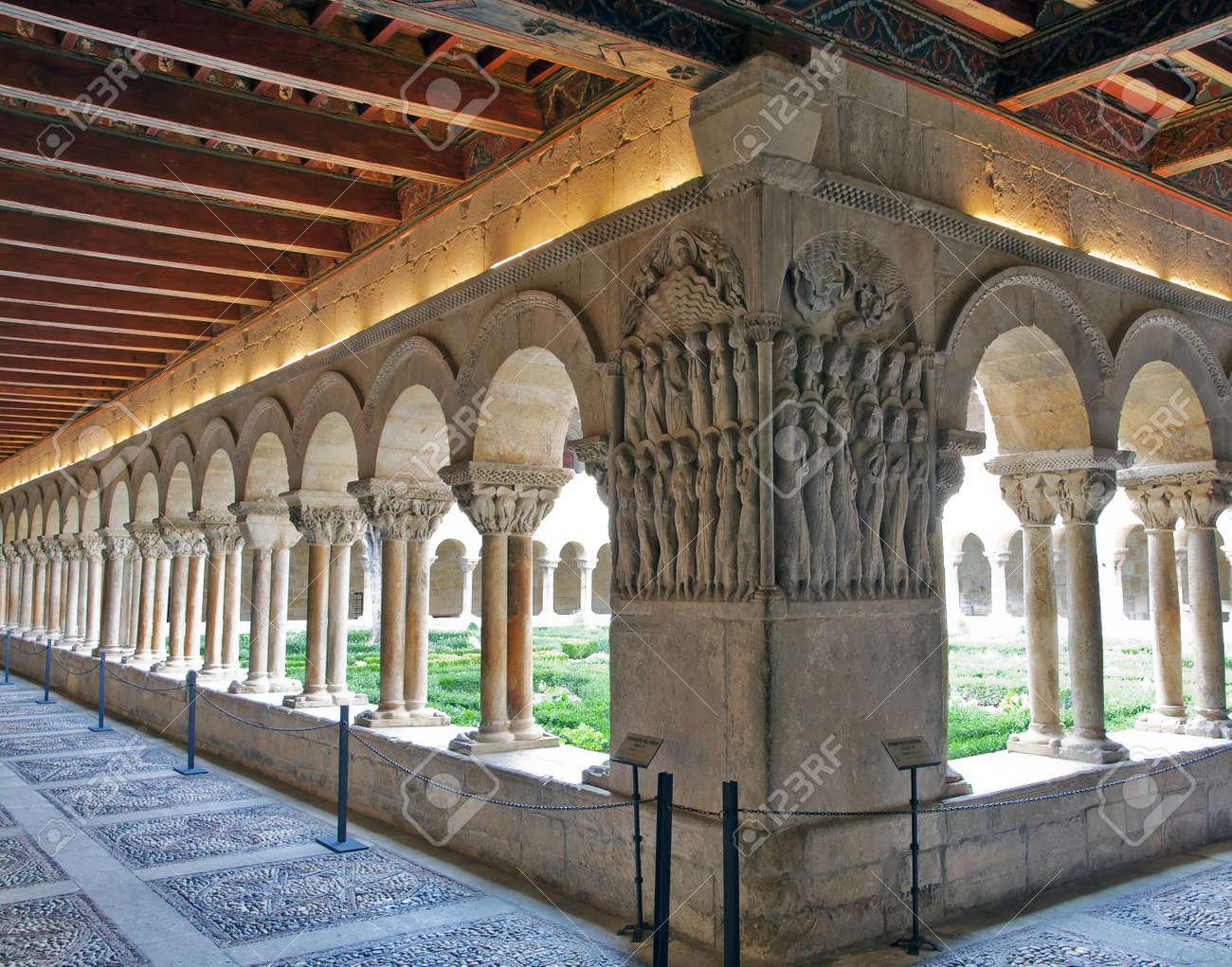 Cloister of Monasterio de Santo Domingo de Silos, Burgos, Spain - 16485293