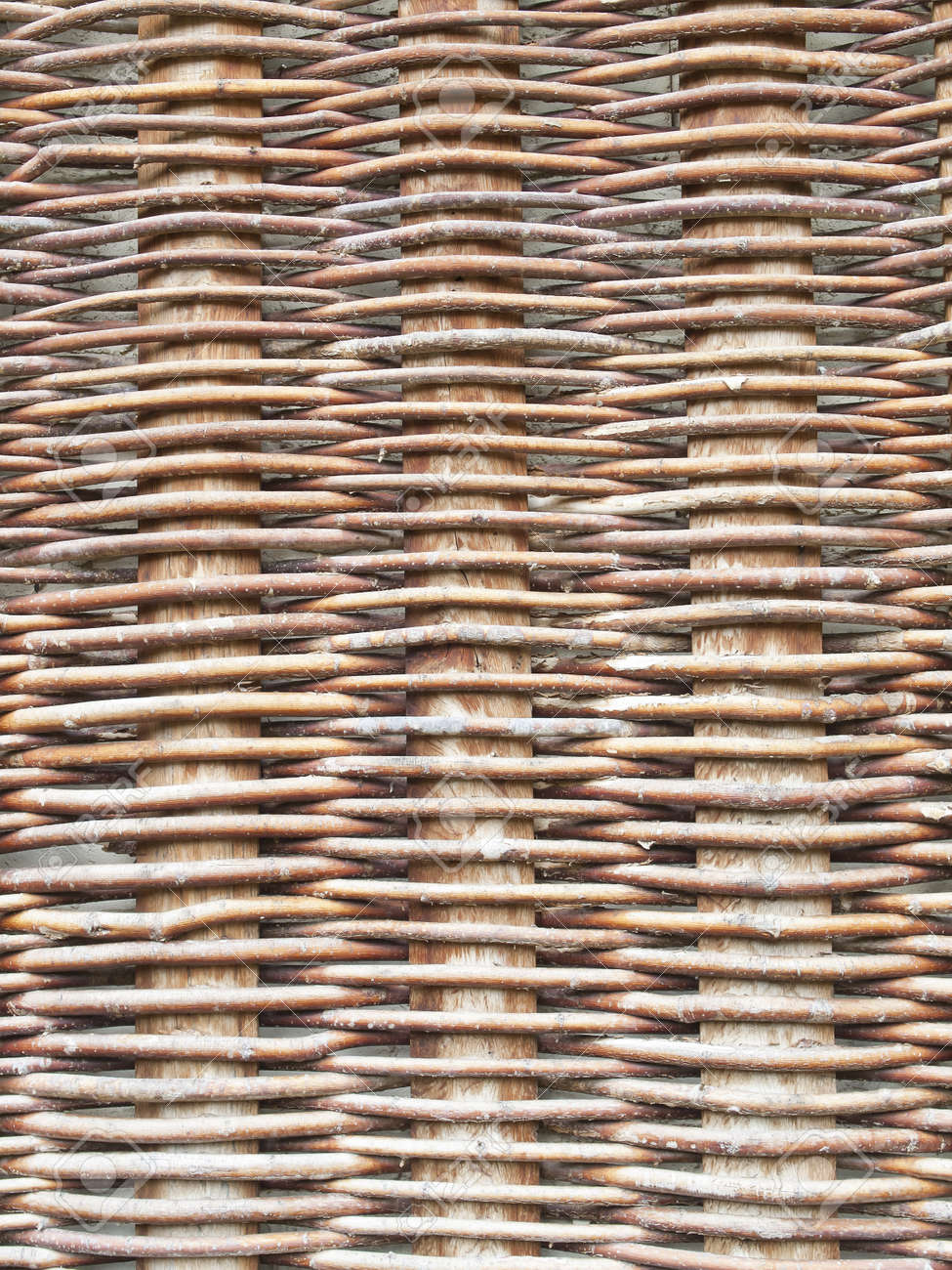 rustic woven wicker background craftsman Stock Photo - 17788182