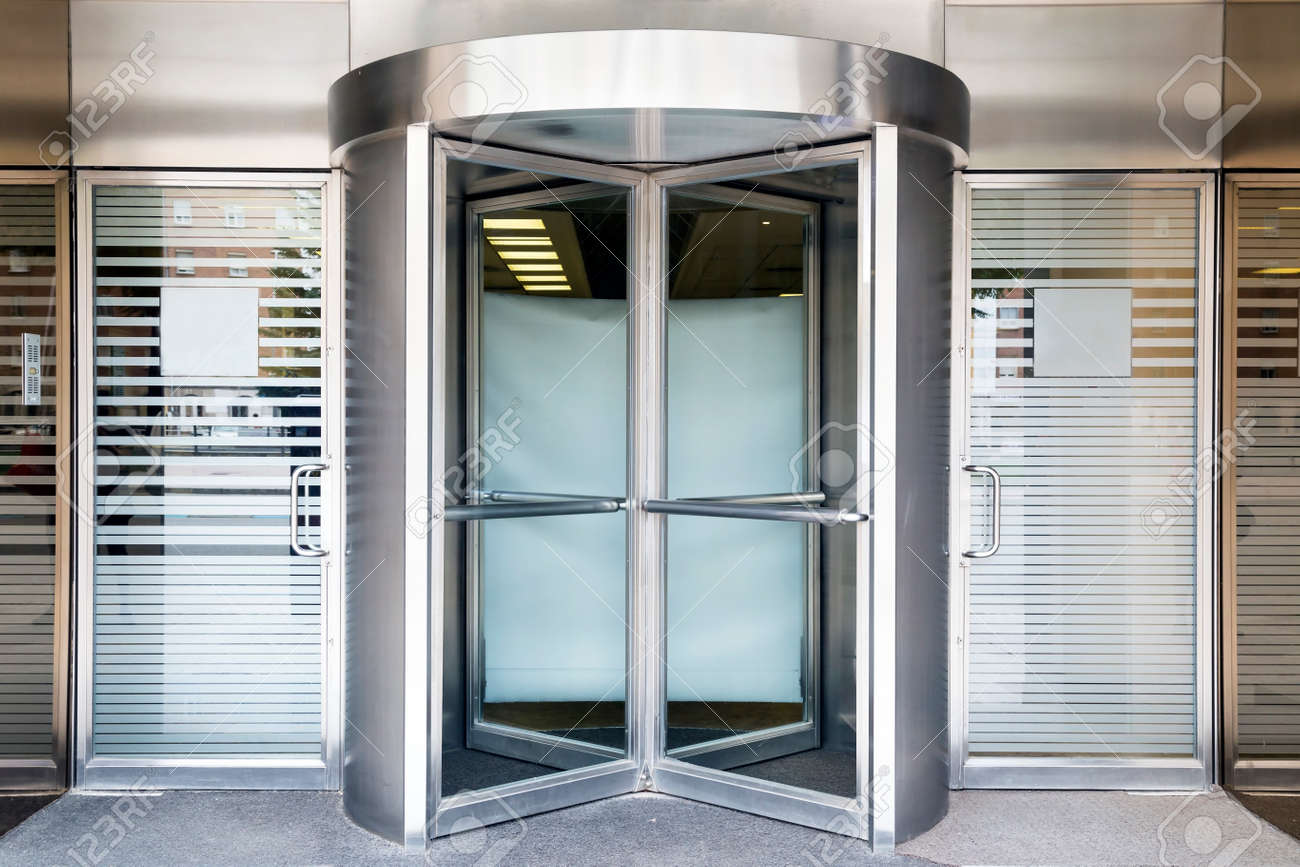 revolving door of modern building Stock Photo - 29863720 & Revolving Door Of Modern Building Stock Photo Picture And Royalty ... Pezcame.Com