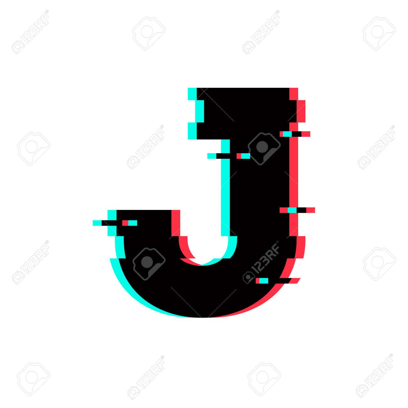 Modern Vector Logo Letter J. J Letter Design Vector Royalty Free