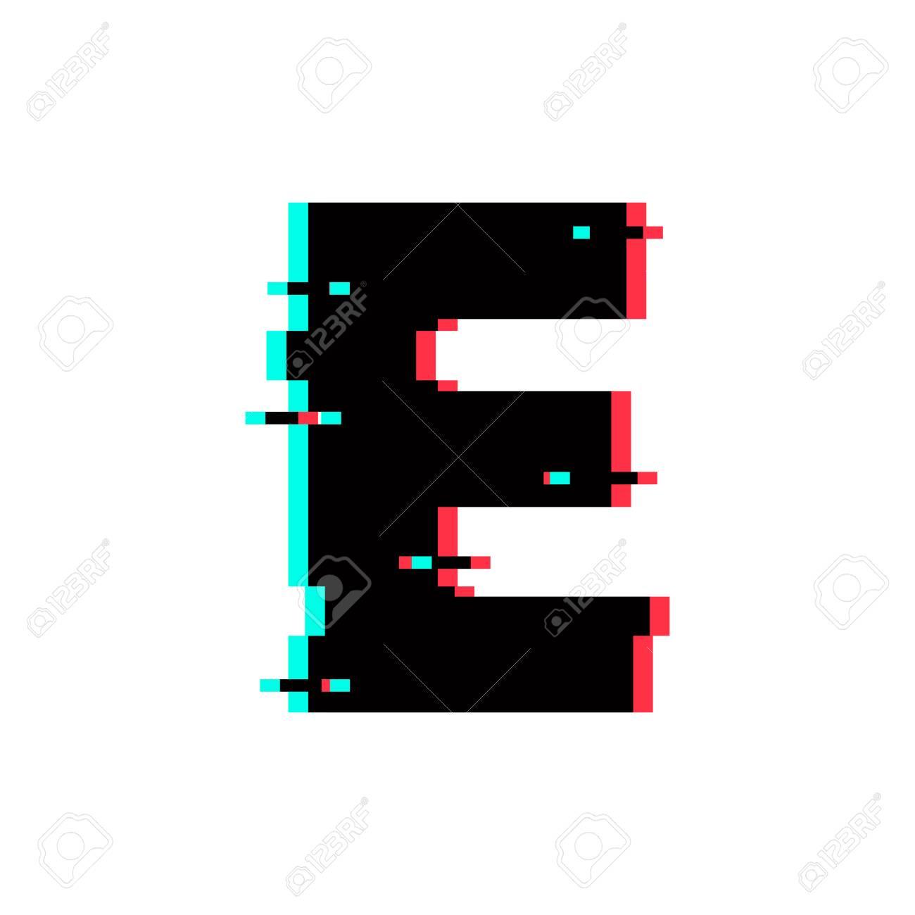 Modern Vector Logo Letter E. E Letter Design Vector - 105600089