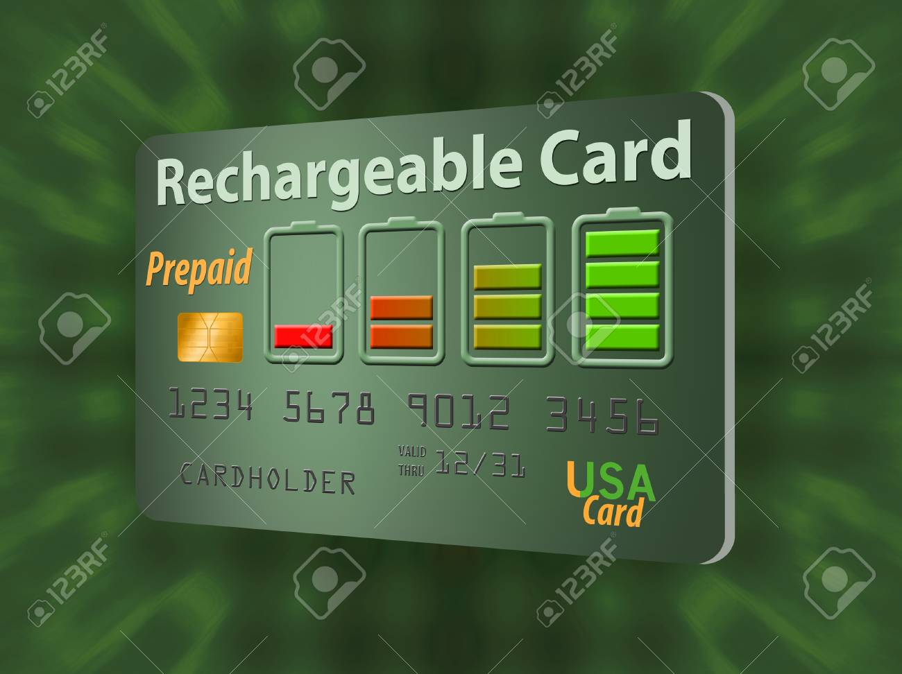 Prepaid Credit Card >> Here Is A Rechargeable Refillable Prepaid Credit Card The Recharge