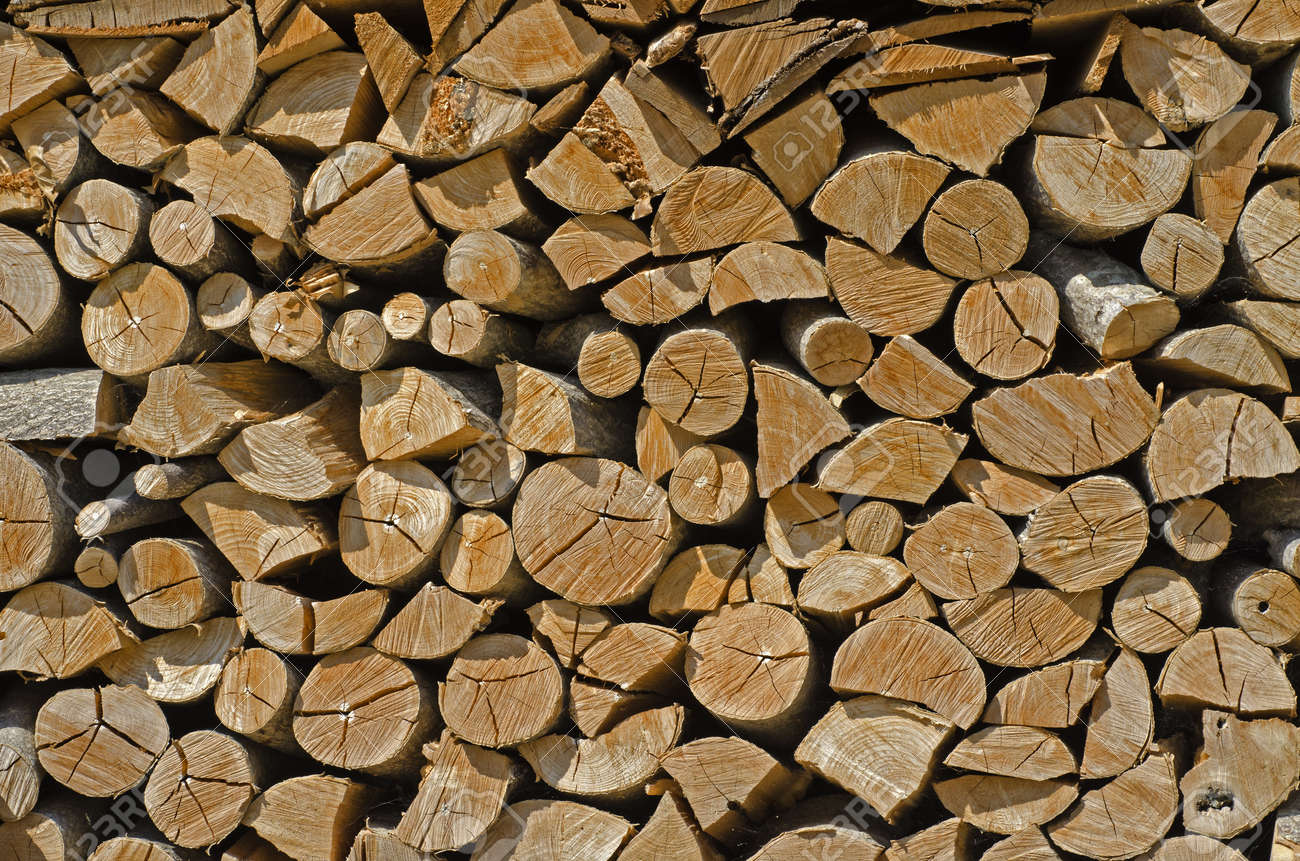 the wood is ready to be burned Stock Photo - 15257050