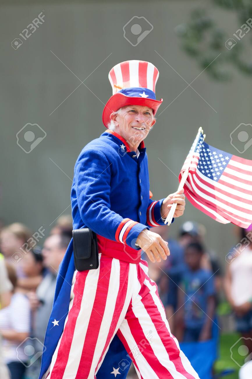 AMERICAN NATIONAL COSTUME UNCLE SAM