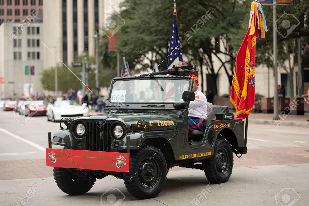 Houston, Texas, USA - November 11, 2018: The American Heroes