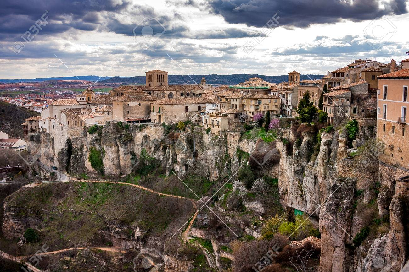 Cuenca, Spain, Hanging Houses, Medieval Town Situated In The Middle Of Two  Ravines Pictures Gallery