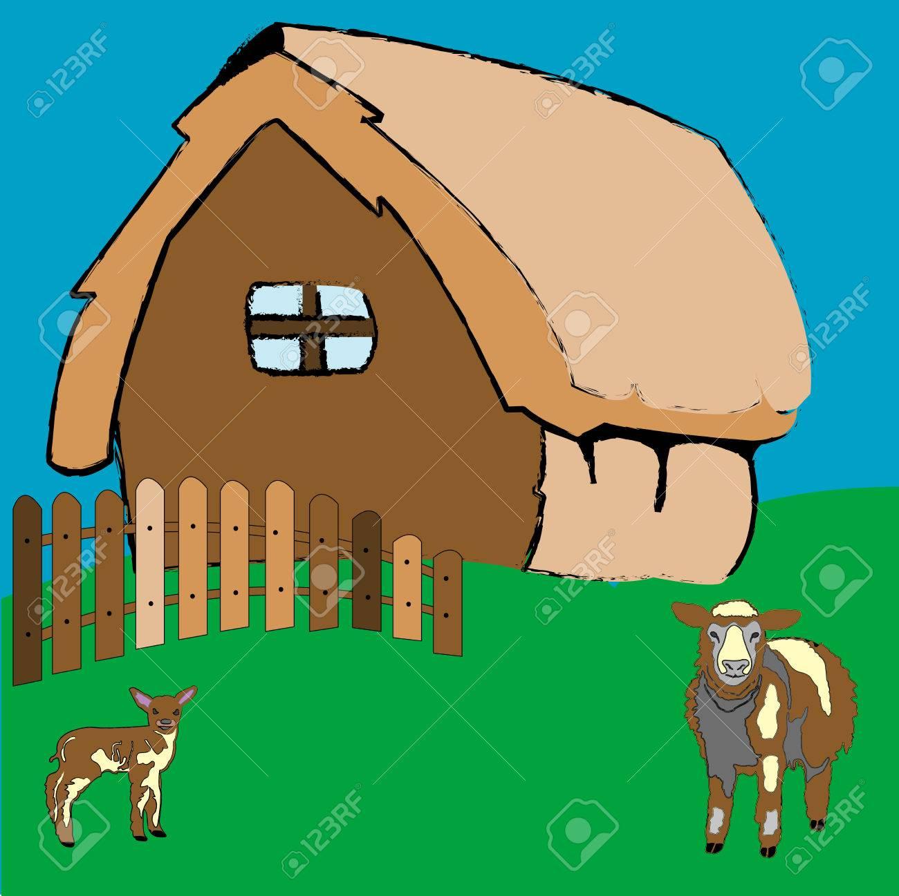 33   Großartig animal farm house for Animal Farm House Drawing  565ane