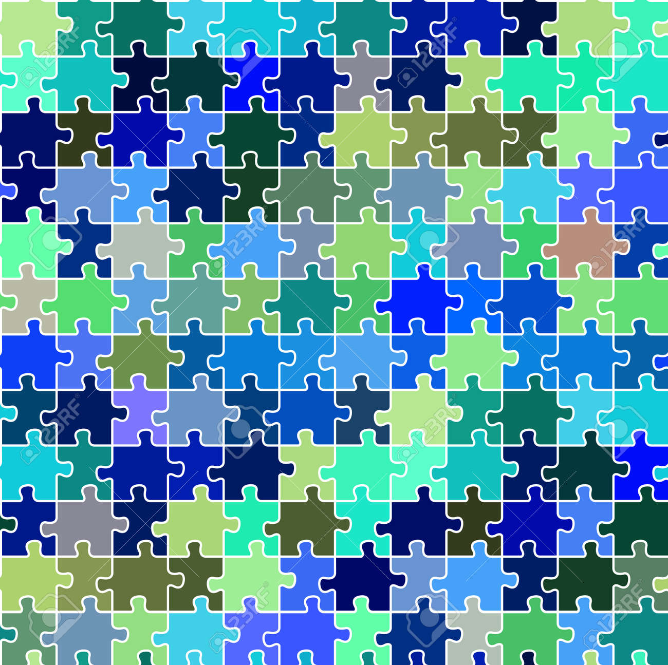 seamless puzzle texture abstract art illustration royalty free
