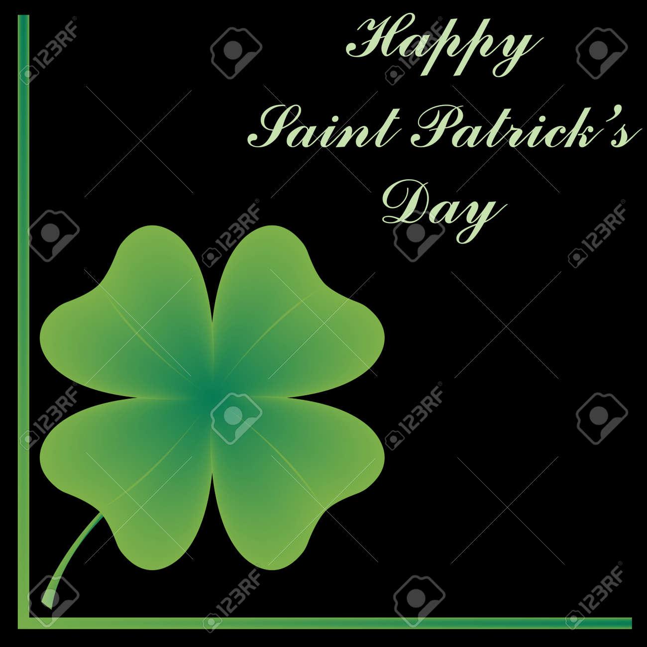 happy saint patrick's day, abstract art illustration Stock Vector - 6409777