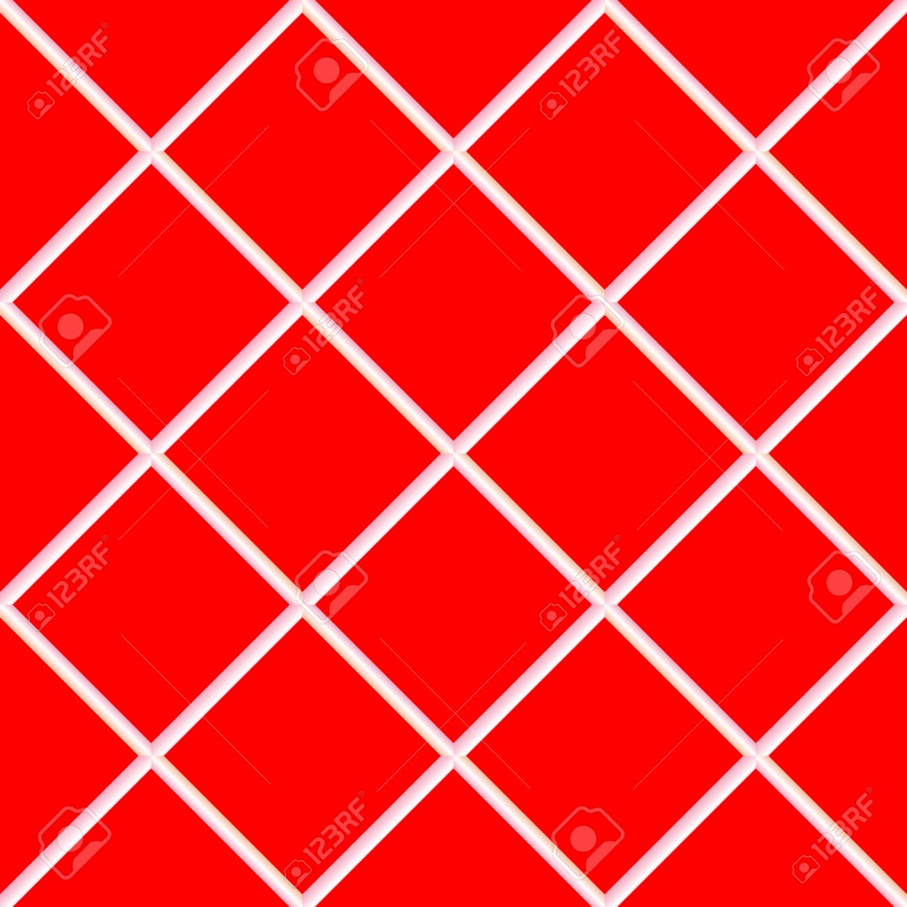 Red Seamless Ceramic Tiles Abstract Texture Royalty Free